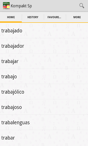 Dictionary SpanishGerman TR