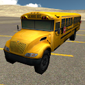 School Bus Driving 3D icon
