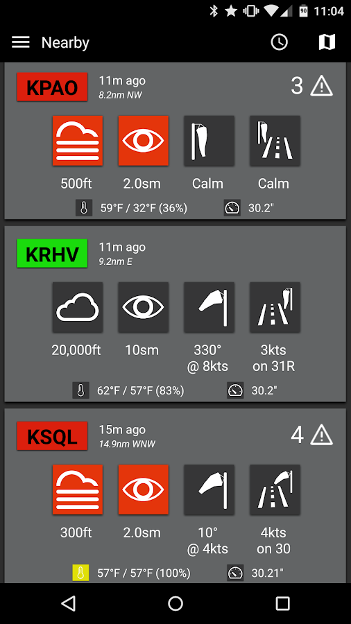 Takeoff - Aviation Weather- screenshot