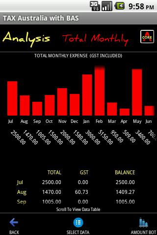 Expense & Tax Manager- screenshot