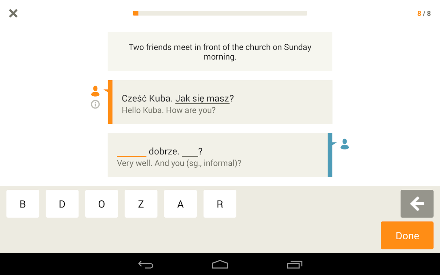 Learn Polish with Babbel- screenshot