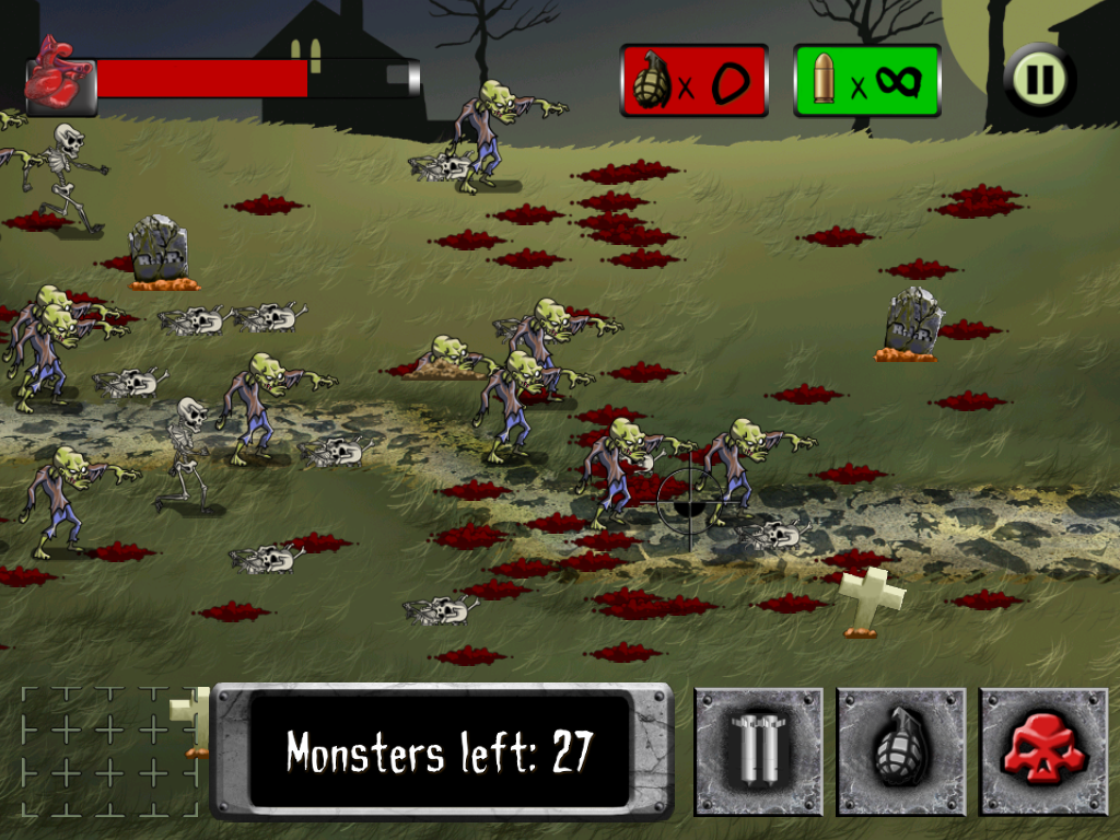 ApocaMonster: Zombies & Demons- screenshot