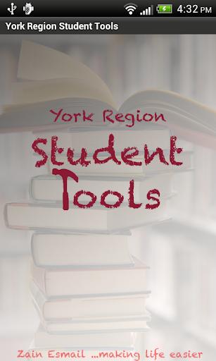 York Region Student Tools