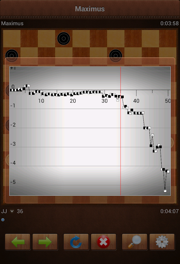 Maximus Draughts- screenshot