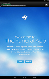 Funerals/Obits- screenshot thumbnail