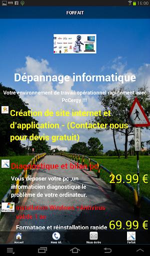 PcCergy Création web et appli
