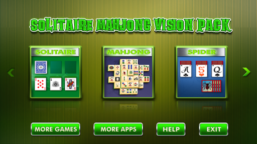 Solitaire Mahjong Vision Pack