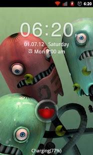 Go Locker Red Four Key Theme Screenshot 3