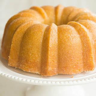 Kentucky Bourbon Butter Cake.