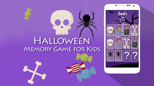 Memory Game for Kids Halloween