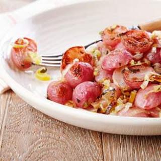 Roasted Radishes & Leeks with Thyme Recipe