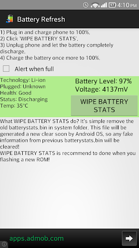 Battery Refresh
