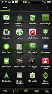 NateModz Green CM10 Theme - screenshot thumbnail
