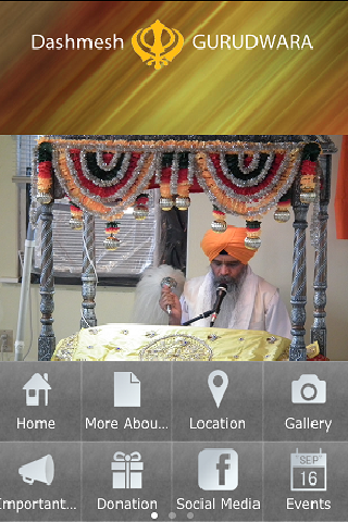 Dashmesh Sikh Gurdwara- screenshot
