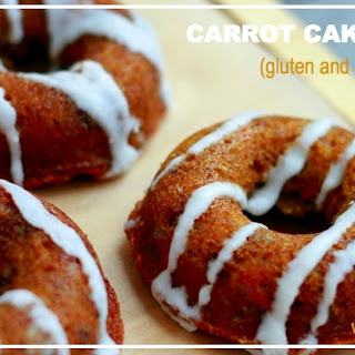 Carrot Cake Donuts (gluten and grain free, paleo)