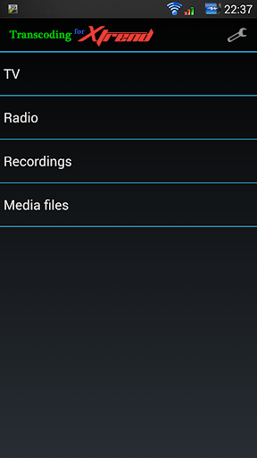 Transcoding for Xtrend