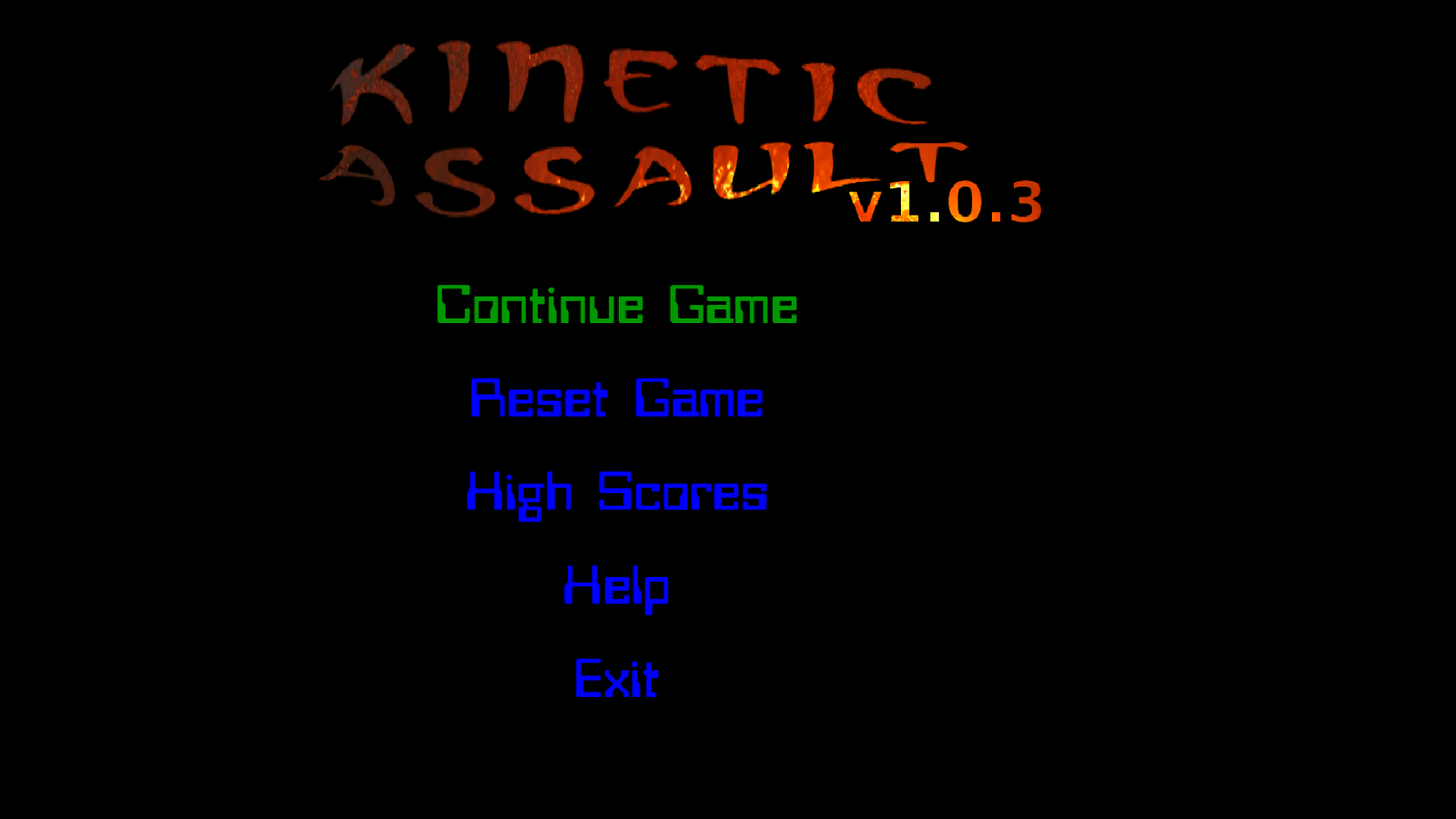 Kinetic Assault- screenshot