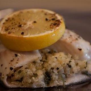 Italian-Style Quinoa-Stuffed Sole