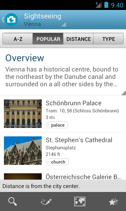 Austria Travel Guide by Tripos - screenshot
