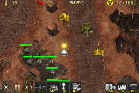 Army Defense Lite - screenshot