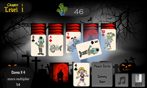 Zombie Solitaire Game