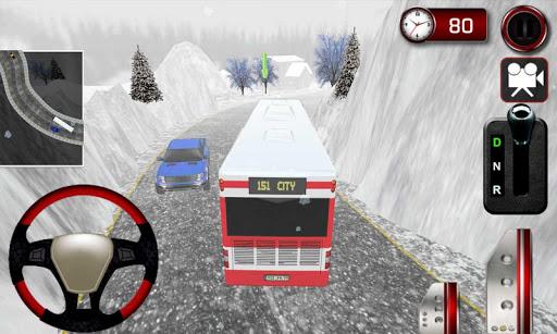 冬季公交出行模擬器