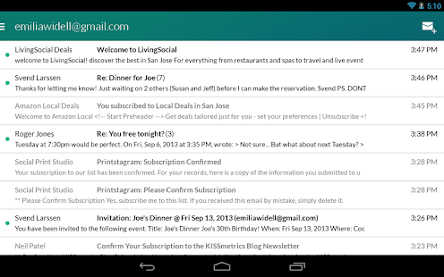 Email App for Gmail & Exchange Screenshot 23