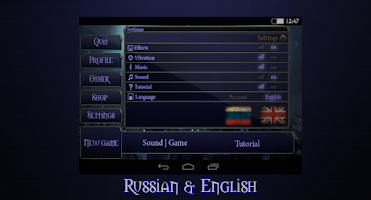Screenshot of Tetra Master HD