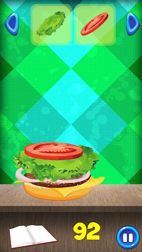 Burger Cooking