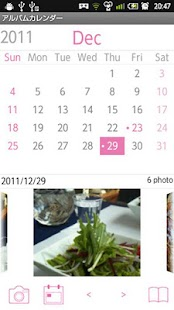 Album Calendar