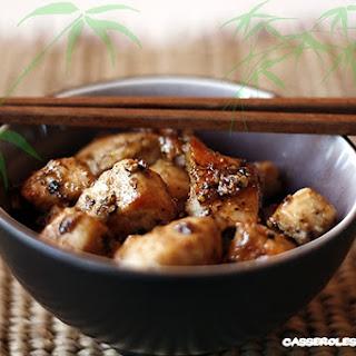 Thai Chicken in Garlic and Pepper.