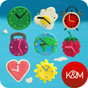 KM Clock Widgets 個人化 LOGO-玩APPs