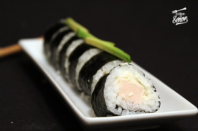 Ham and Parmesan Cheese Sushi Recipe