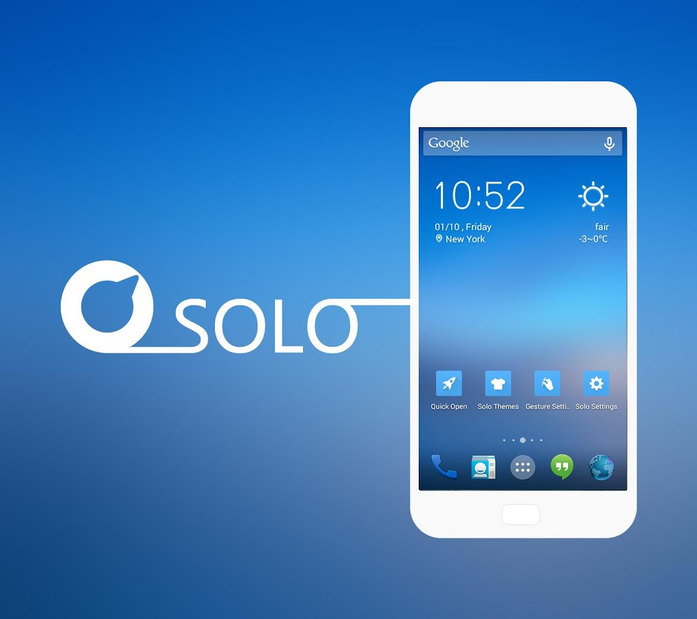 Solo Launcher ★KitKat UI★ - screenshot