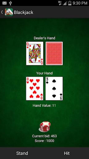 Blackjack (二十一点)—— 免费牌类游戏