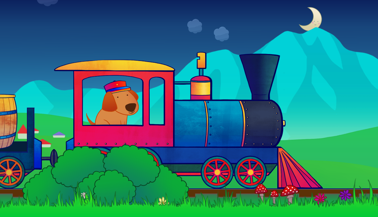 animal train for toddlers android apps on google play