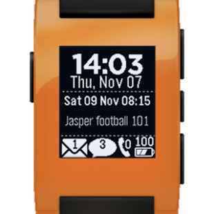 Glance for Pebble - screenshot thumbnail