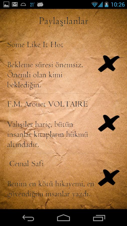 Kitap Cümleleri - screenshot