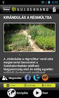 Screenshot of Régészeti Park GUIDE@HAND