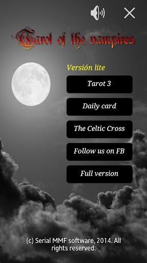 Tarot of the vampires. Lite.