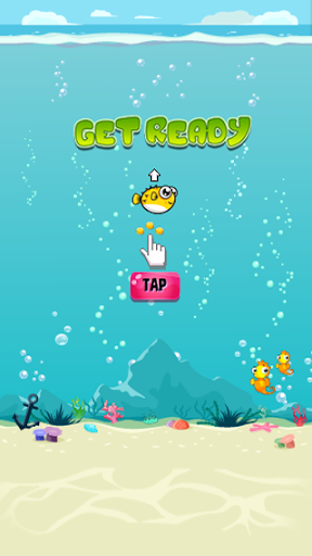 【免費街機App】Puffy Fish, A Flappy Quest-APP點子