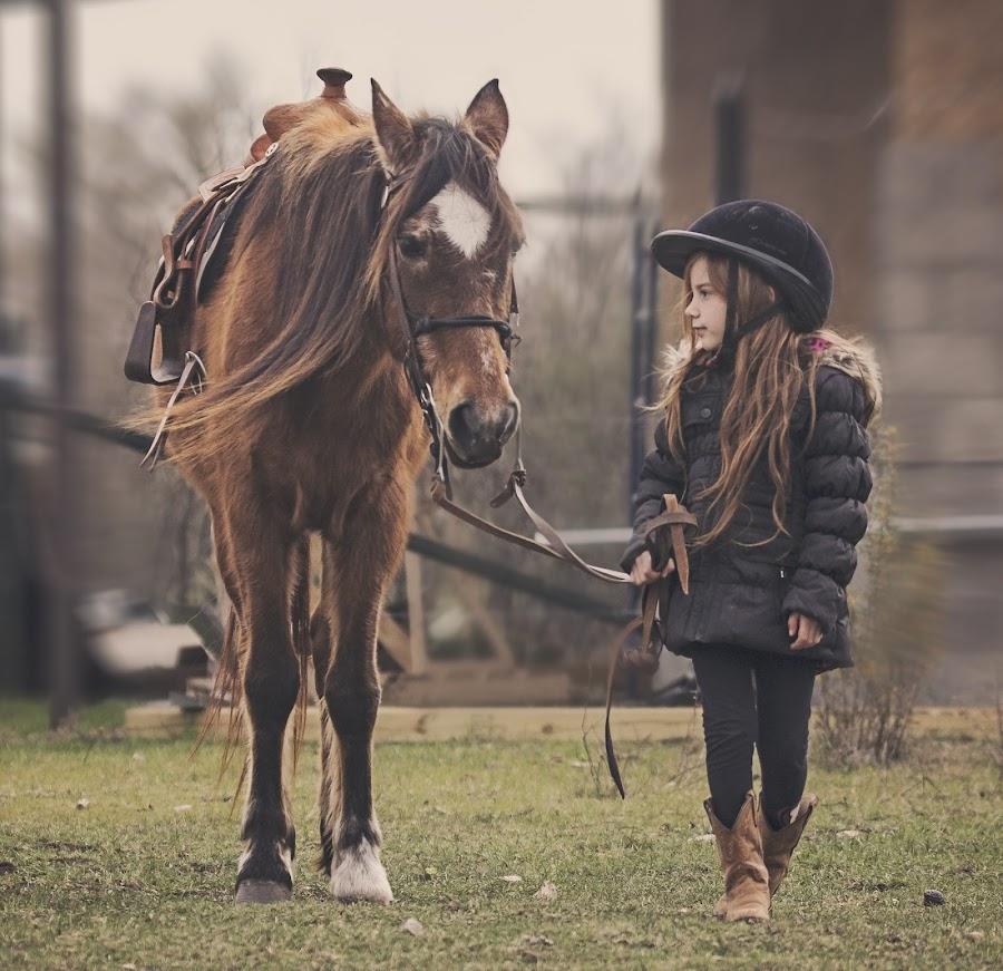 by Kelley Hurwitz Ahr - Babies & Children Children Candids ( february 2015, horse,  )