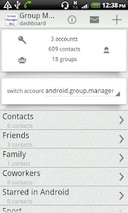 Group Contact  Manager - screenshot thumbnail