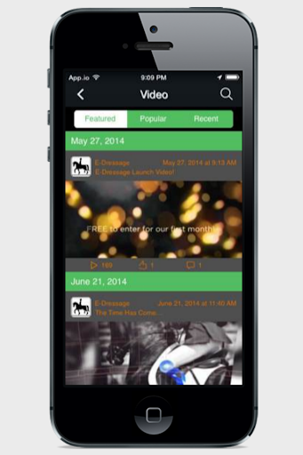 【免費運動App】E-Dressage-APP點子