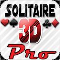 Solitaire 3D Pro logo