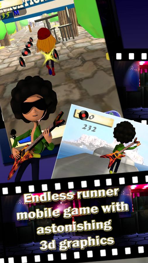 Rock Star Run - στιγμιότυπο οθόνης