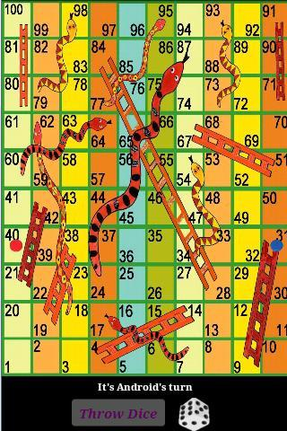Snakes & Ladders- screenshot