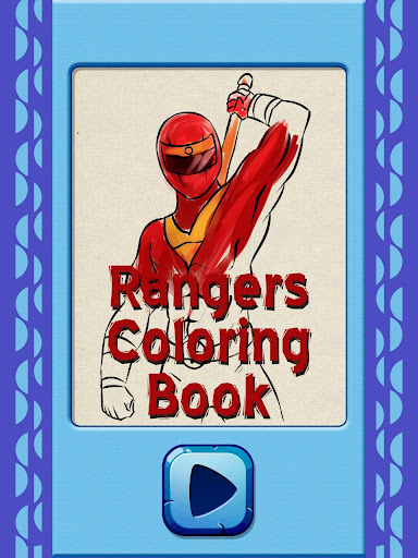 Rangers Coloring Book