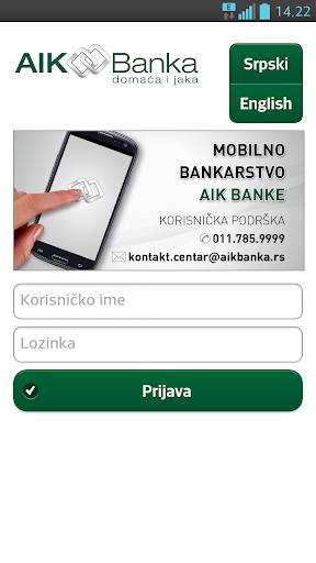 AIK mobile banking