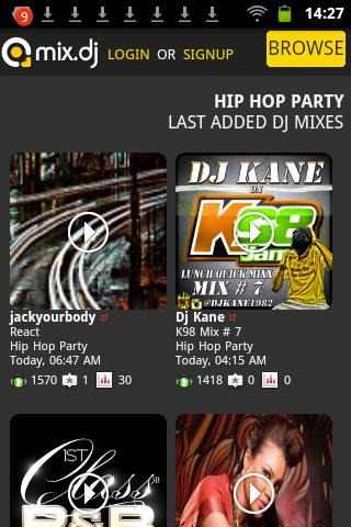 Hip Hop Party by mix.dj - screenshot